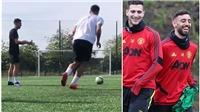 MU: Bruno Fernandes tăng cường tập luyện, khiến fan MU thấy cảm phục