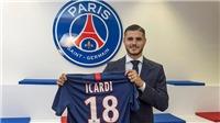 PSG chính thức đạt thỏa thuận chiêu mộ Icardi từ Inter