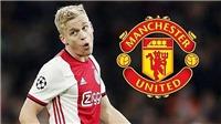 CHUYỂN NHƯỢNG 14/6: MU có cách mua Van de Beek. Juve và Inter tranh nhau sao Chelsea