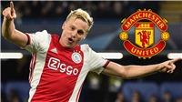 Bóng đá hôm nay 7/6: MU tái khởi động vụ Van de Beek. Premier League nhận tin vui trước ngày trở lại