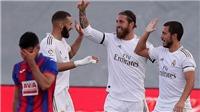 Bóng đá hôm nay 15/6: Real thắng dễ Eibar. Solskjaer nói về tương lai của Sanchez
