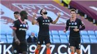 Video clip bàn thắng Aston Villa 1-2 Chelsea: Thầy trò Lampard củng cố top 4