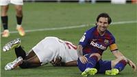 Sevilla 0-0 Barcelona: Messi tịt ngòi, Barca bị Real rút ngắn khoảng cách