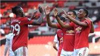 MU 3-0 Sheffield: Martial tỏa sáng với hat-trick, Quỷ đỏ kéo dài chuỗi bất bại