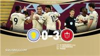 Điểm nhấn Aston Villa 0-3 MU: Quỷ đỏ lập kỷ lục. Tuyến giữa MU quá hay
