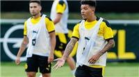 MU bị Dortmund trêu chọc sau khi mua hụt Jadon Sancho