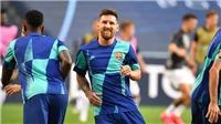 Messi làm gì trong lần đầu có mặt ở đại bản doanh Barca sau tuyên bố ở lại?