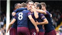 Kết quả bóng đá Fulham 0-3 Arsenal: 'Pháo thủ' vươn lên dẫn đầu Premier League