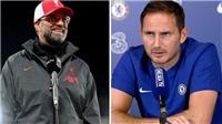 Lampard khẩu chiến với Klopp: 'Liverpool cũng mua sắm nhiều như Chelsea thôi'