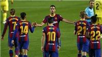 Bóng đá hôm nay 28/9: Barca thắng lớn. Juventus chia điểm. MU tăng cường hỏa lực