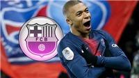 Bóng đá hôm nay 16/10: Barca chiêu mộ Mbappe. Mục tiêu của MU nhiễm Covid-19