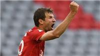 Thomas Mueller lập kỷ lục giành nhiều danh hiệu nhất lịch sử bóng đá Đức
