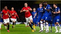 Trực tiếp bóng đá. MU vs Chelsea. Ngoại hạng Anh vòng 6. Trực tiếp K+ PM