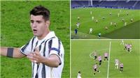 Morata gây sốt với với hat-trick không được công nhận vào lưới Barca