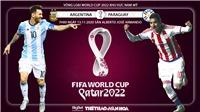 Soi kèo nhà cáiArgentina vs Paraguay. Vòng loại World Cup 2022 khu vực Nam Mỹ