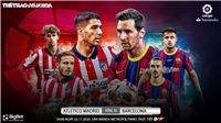 Soi kèonhà cái Atletico Madrid vs Barcelona. Vòng 10 La Liga