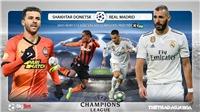 Soi kèo nhà cáiShakhtar Donetsk vs Real Madrid. Vòng bảng Champions League