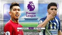 Soi kèo nhà cáiLiverpool vs West Brom. Trực tiếp bóng đá vòng 15 Ngoại hạng Anh