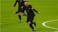 Messi lấy lại phong độ, tiếp tục tiến xa trên con đường huyền thoại