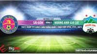 Soi kèo nhà cái Sài Gòn vs HAGL.VTV6 trực tiếp bóng đá Việt Nam