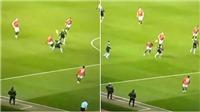 MU: Pogba phô diễn kỹ thuật thượng thừa trong bàn thắng của Martial