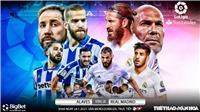 Link xem trực tiếp Alaves vs Real Madrid. BĐTV trực tiếp bóng đá Tây Ban Nha