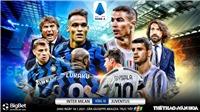 Soi kèo nhà cáiInter Milan vs Juventus.FPT Play trực tiếp vòng 18 Serie A