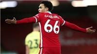 Alexander-Arnold phá kỷ lục buồn trong ngày Liverpool thua Burnley