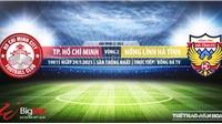 Soi kèo nhà cái TPHCM vs Hà Tĩnh.BĐTV trực tiếp bóng đá Việt Nam 2021