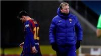 Với khoản nợ 1 tỷ, Barca khó có thể chiều lòng Messi