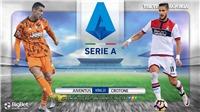 Soi kèo nhà cái Juventus vs Crotone. FPT Play trực tiếp bóng đá Italia Serie A