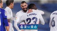 Real Madrid 2-0 Getafe: Thắng thuyết phục, Real lấy ngôi nhì bảng