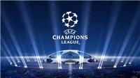 Lịch thi đấu, truyền hình trực tiếp và kết quả vòng 1/8 Champions League