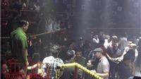 Đột kích quán bar ở TP Hồ Chí Minh, nhiều 'dân bay' phi tang ma túy trốn chạy