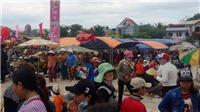 Phiên chợ Gò chỉ họp sáng mùng 1 Tết ở Bình Định