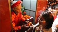 Lễ Phát lương nơi Hưng Ðạo Ðại Vương đặt kho lương tại đền Trần Thương - Hà Nam