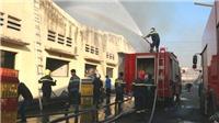 Đang cháy lớn tại công ty dệt trong khu công nghiệp Biên Hòa 2 – Đồng Nai