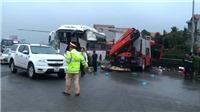 Xe cứu hỏa đâm xe khách trên cao tốc: Một chiến sỹ cảnh sát tử vong