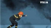 VIDEO: Từ vụ cháy chung cư Carina Plaza, cần làm gì để thoát nạn khi cháy nhà cao tầng?