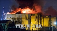 Vụ cháy trung tâm thương mại ở Nga: Tổng thống Putin tới hiện trường