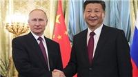 Tổng thống Putin lên lịch gặp Chủ tịch Trung Quốc nhiều lần trong năm 2018