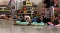 Đình chỉ công tác cô giáo bạo hành trẻ Trường Mầm non 30-4