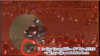 Khoảnh khắc kinh hoàng xe bán tải tóe lửa kéo lê người đi xe máy