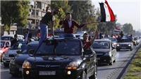 VIDEO: Chặn được 71 quả tên lửa, người Syria đổ ra đường ăn mừng