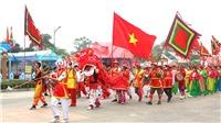 Giỗ Tổ Hùng Vương 2018: Lễ rước kiệu, dâng lễ vật cung tiến Tổ tiên