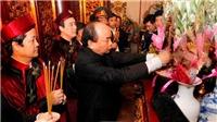 Thủ tướng Nguyễn Xuân Phúc dâng hương Giỗ Tổ Hùng Vương