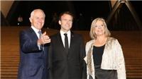 Cư dân mạng nói gì khi Tổng thống Pháp 'khen' vợ Thủ tướng Australia 'ngon'?