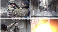 KINH HOÀNG: Bị IS gài bom lên đầu, binh sĩ Syria biến thành tên lửa sống