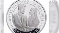 Ra mắt đồng xu in hình hoàng tử Harry và vợ sắp cưới