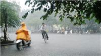 Đông Bắc Bộ và khu vực Hà Nội có mưa dông vài nơi
